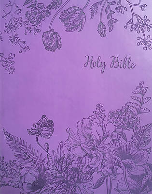Picture of Kjver Sword Study Bible Giant Print Designer Purple Ultrasoft Indexed