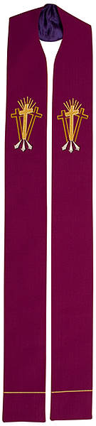 Picture of Abbott Hall Vision Series NS5460 Purple Lent Stole