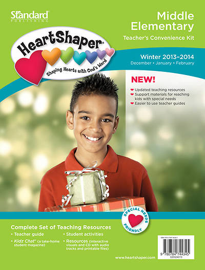 Standard HeartShaper Middle Elementary Teachers Kit Winter 2013-2014