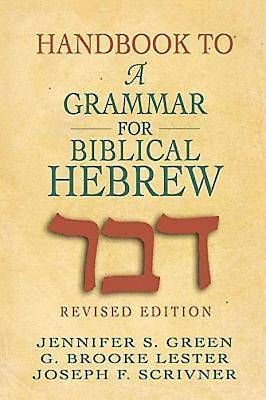 Picture of Handbook to A Grammar for Biblical Hebrew