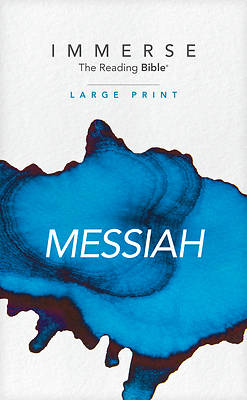 Picture of Immerse Messiah, Large Print (Softcover)