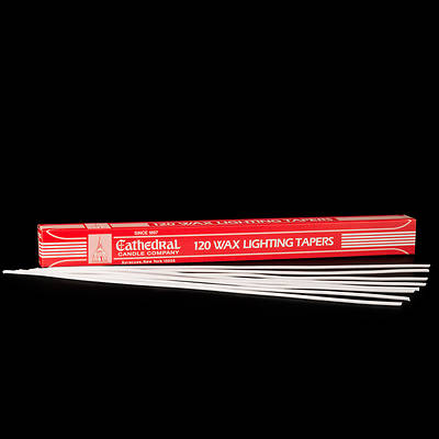 Picture of Cathedral Wax Lighting Tapers - Box of 120