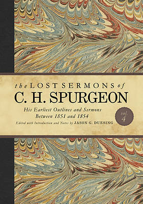 Picture of The Lost Sermons of C. H. Spurgeon Volume IV