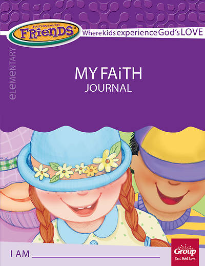 Picture of FaithWeaver Friends Elementary Student Book My Faith Journal Spring 2018