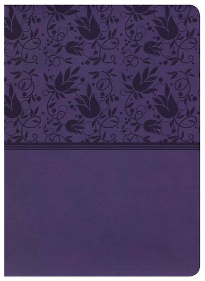 Picture of KJV Study Bible, Purple Leathertouch
