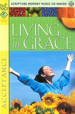 Picture of Living in Grace with CD (Audio)