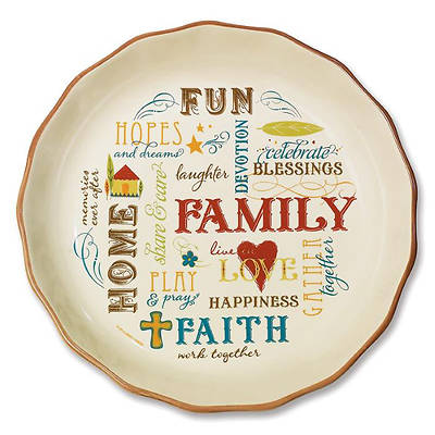 Family Pie Plate