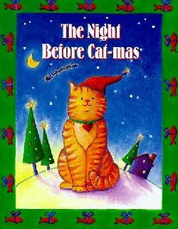 The Night Before Cat-Mas [With Ribbon with 24k Gold Plated Charm]