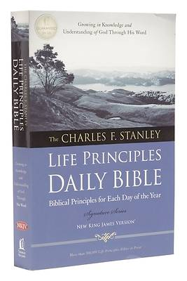 Picture of The Charles F. Stanley Life Principles Daily Bible, NKJV