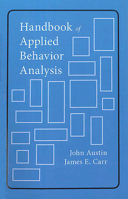 Picture of Handbook of Applied Behavior Analysis