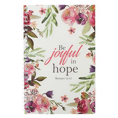 Picture of Notebook Wirebound Be Joyful