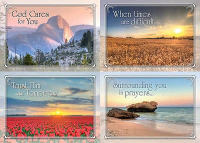 In the Masters Care - Encouragement Boxed Cards - Box of 12