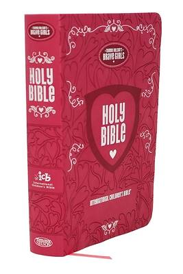 Picture of Tommy Nelson's Brave Girls Devotional Bible Pink Leathersoft Cover