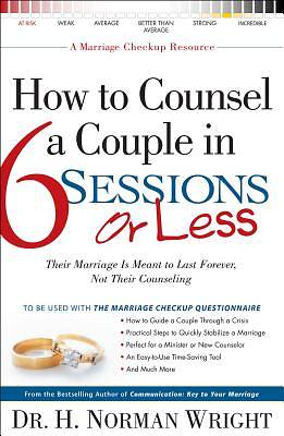 Picture of How to Counsel a Couple in 6 Sessions or Less