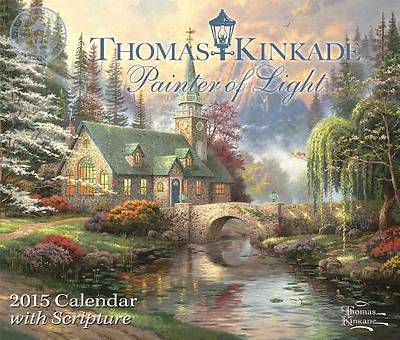 Picture of Thomas Kinkade Painter of Light with Scripture 2015 Day-To-Day Calendar