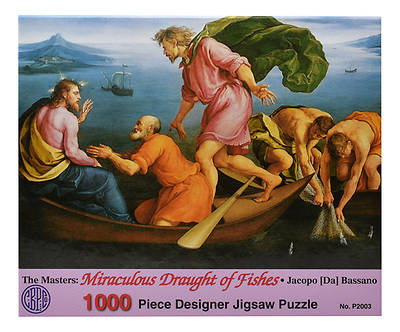 Picture of The Miraculous Draught of Fishes Puzzle