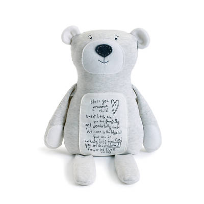 Poetic Thread Bear - Bless You Precious Child