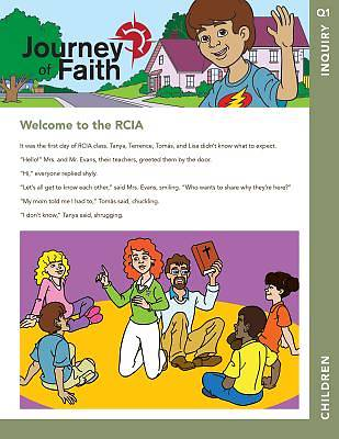 Picture of Journey of Faith for Children, Inquiry
