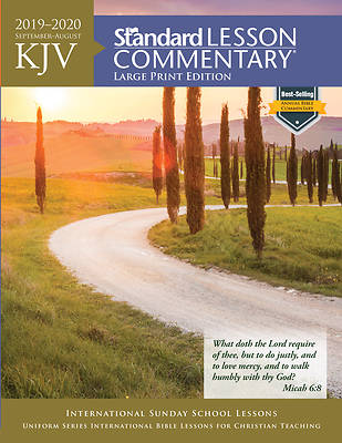 Picture of KJV Standard Lesson Commentary Large Print 2019-2020