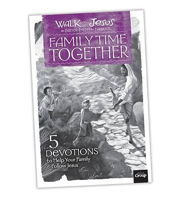 Walk with Jesus Family Time Together Booklet (10 Pack)