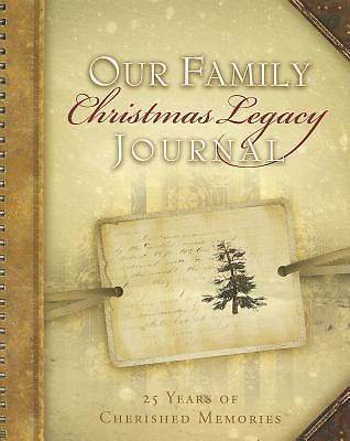 Our Family Christmas Legacy Journal
