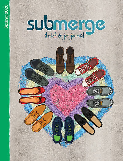Picture of Submerge Sketch & Jot Journal Spring 2020