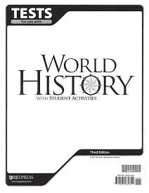 World History Testpack 3rd Edition