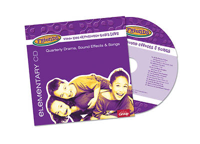 FaithWeaver Friends Elementary Drama Sound Effects & Songs CD Fall 2018