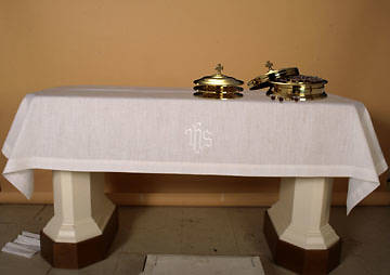 Lin-Look IHS Communion Table Cover - 49