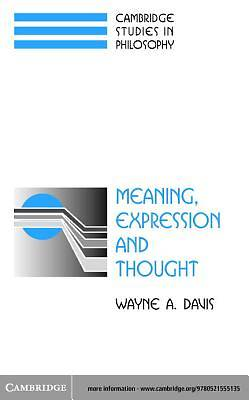 Meaning, Expression and Thought [Adobe Ebook]