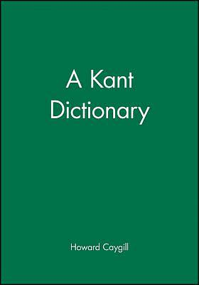 Picture of A Kant Dictionary