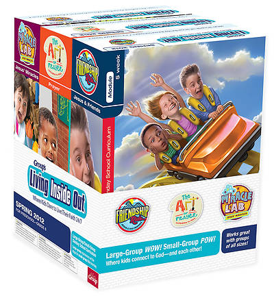 Picture of Living Inside Out Kit: Friendship Ride, Miracle Lab, & Art of Prayer: Spring 2012