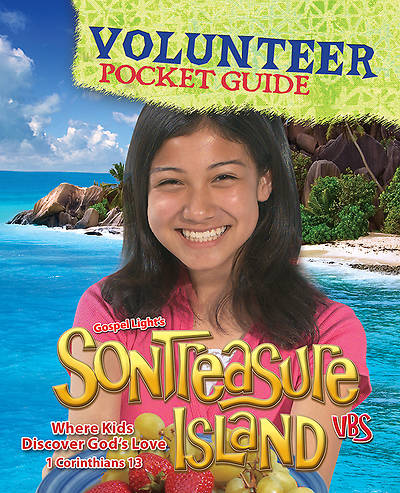 Gospel Light VBS 2014 SonTreasure Island Volunteer Pocket Guide 10 pack