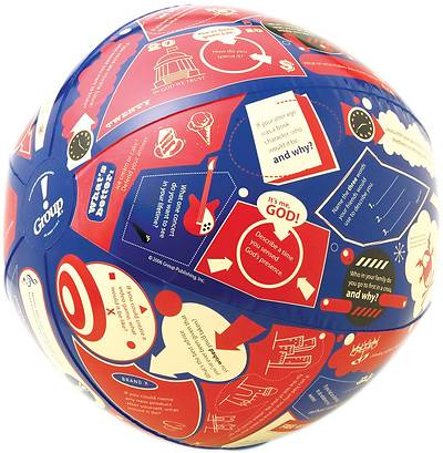 Throw & Tell Ball Ice Breakers