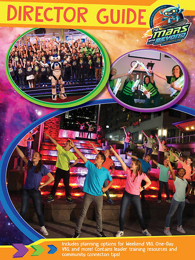 Picture of Vacation Bible School (VBS) 2019 To Mars and Beyond Director Guide Download