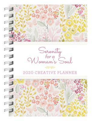 Picture of 2020 Creative Planner Serenity for a Woman's Soul