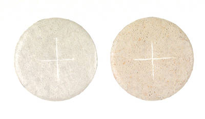 Communion Wafers White 1 1/ 8