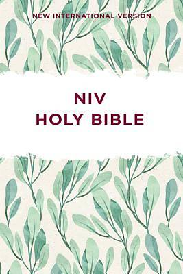 NIV Outreach Bible- Green Leaf