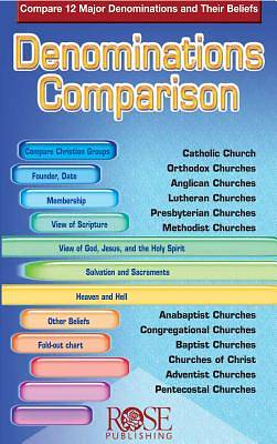 Picture of Denominations Comparison Pamphlet