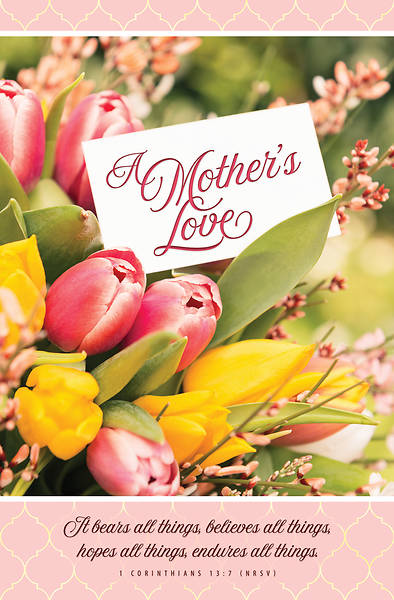 Picture of A Mother's Love Regular Size Bulletin