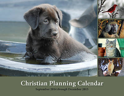 Picture of Christian Planning Calendar 2014-2015