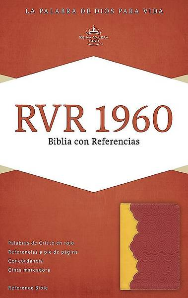 Picture of Rvr 1960 Biblia Con Referencias, Ambar/Rojo Ladrillo Simil Piel