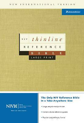 Thinline Reference Bible-NIV-Large Print