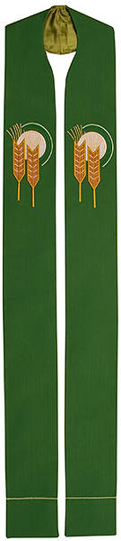 Abbott Hall Vision Series NS5560 Green Ordinary Time Stole