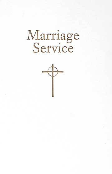 Presbyterian Marriage Certificate with Service PC(USA)