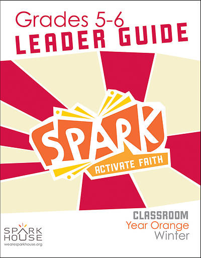 Picture of Spark Classroom Grades 5-6 Leader Guide Year Orange Winter