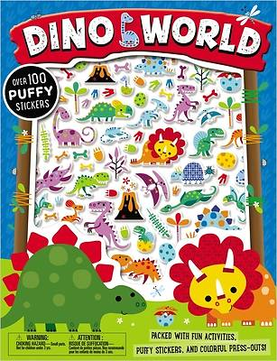 Picture of Puffy Stickers Dino World