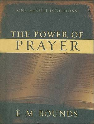ONE MINUTE DEVOTIONS POWER OF PRAYER