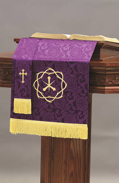 Picture of Abbott Hall TRN Purple Crown of Thorns Two-Piece Parament Set