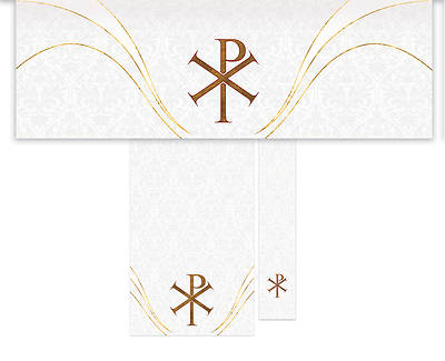 Easter Chi Rho Economy 3-Piece Altar Set